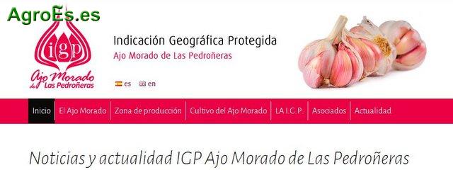 Ajo Morado de Las Pedroñeras con IGP Identidad Geográfica Protegida