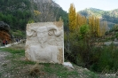 Esculturas en la ruta